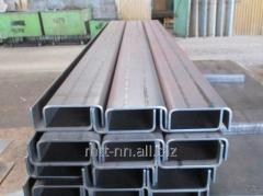 Швеллер нержавеющий 100x60x3 сталь 08Х18Н10, 12Х18Н10Т, 08Х17Т