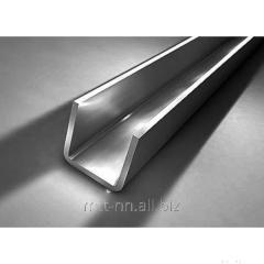 Швеллер нержавеющий 100x60x3 сталь AISI 304, 321, 439