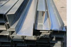 Швеллер нержавеющий 100x80x4 сталь AISI 304, 321, 439
