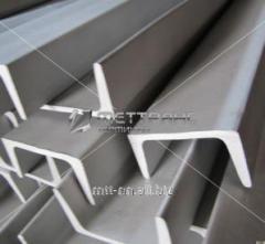 Швеллер нержавеющий 100x80x5 сталь 08Х18Н10, 12Х18Н10Т, 08Х17Т