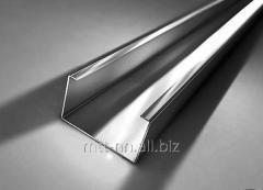 Швеллер нержавеющий 104x20x2 сталь 08Х18Н10, 12Х18Н10Т, 08Х17Т
