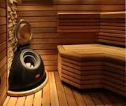 Saunas from a cedar
