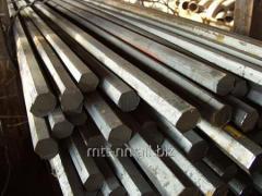 Шестигранник стальной 98 горячекатаный, сталь У7, У8, У8А, У10, У10А, ГОСТ 2879-2006