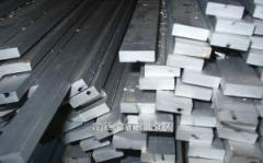 Шина алюминиевая 40x3  по ГОСТу 15176-89, марка АД31