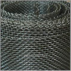 Сетка рабица 100x100 с полимерным покрытием,