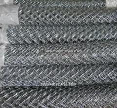 Сетка рабица 5x5 с полимерным покрытием, раскрой 1х10, арт. 50551367