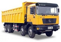 Shaanxi 336 dump trucks of h.p. 25 tn