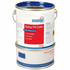 The epoxy covering of a floor pigmented, Remmers