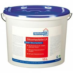 Paint emulsion, on the basis of silicone pitch,