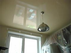 Stretch ceilings for kitchen