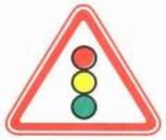 Road sign 1.8 traffic light regulation