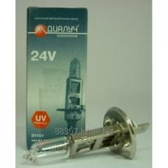 Car lamp of Dialuch of H1 24V 100W P14,5s code