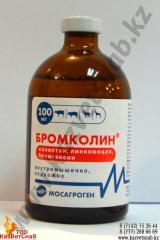 Бромколин - Ветеринарный антибиотик 100 мл