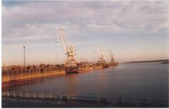 Bulldozers, dump trucks, truck cranes, excavators