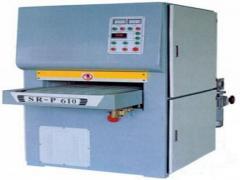 Calibrating-polishing machines
