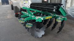 Unit soil-cultivating hinged AG-2,4-20
