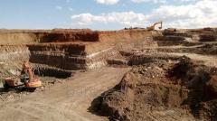 Бентонитовая комовая глина