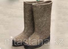 Valenoks with a rubber sole (pr-in Russia)
