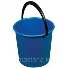 Bucket economic polyethylene of 10 l, (kapron)