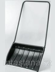 Скрепер (движок) для снега Барин с планкой, 700х530 мм