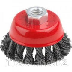 Brush nozzle cup for UShM (wattled), 100 mm