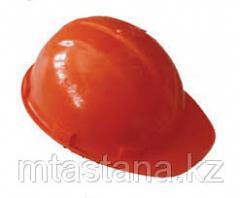Каска защитная строительная, оранжевая