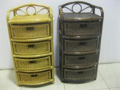 Laundry basket with 4 boxes R 40/4