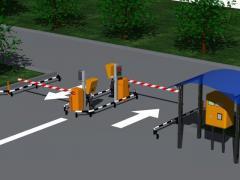 Решение парковочной системы BFT