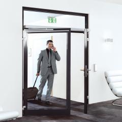 Распашная дверь Dorma