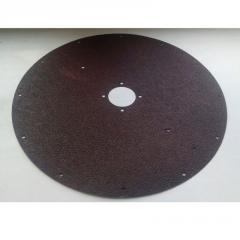 Abrasive disk round MKK-300.9884.35.00.002-01 code