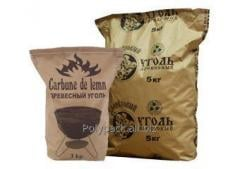 Paper bags for charcoal without logo