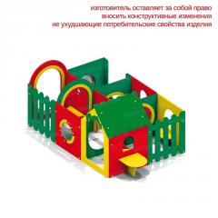 Домик-лабиринт 6 секции 4398
