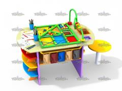 Didactic table of