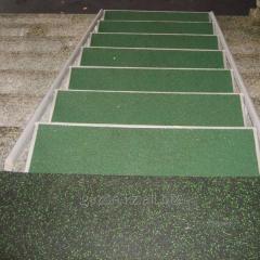 Резиновое покрытие для спортивных площадок...