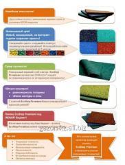 Травмобезопасная плитка EcoStep Premium 500x500