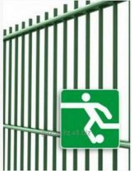 Забор металлический Футбол