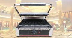 Contact grill toaster