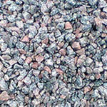 Crushed stone cubical