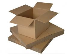 Cardboard boxes packing