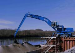 Loading cranes hydraulic TEREX|FUCHS MHL 380