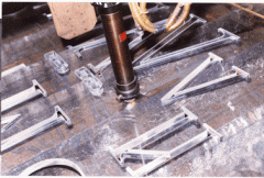 Machines of laser cutting, Laser cutting of sheet