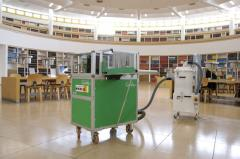 Equipment for restoration of books