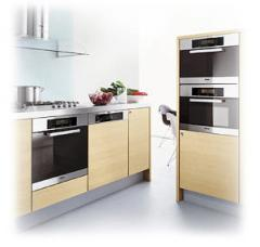 The built-in household appliances, kitchen