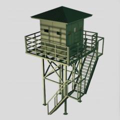 Armor observation tower of BZK-NV
