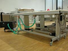 The equipment for restoration of books, the Vacuum