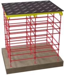 Concrete pump, pneumosuperchargers, shuttering