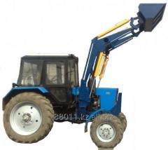 Front-end quick-detachable loader of PBM-800