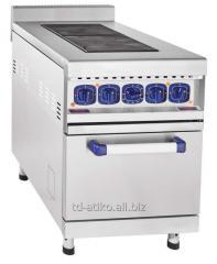 Плита электрическая двухконфорочная с жарочным шкафом ЭП-2ЖШ