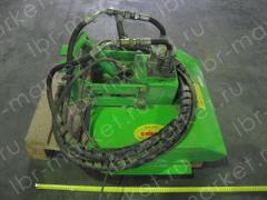 He device for cutting of a grass to mulchirovatel
