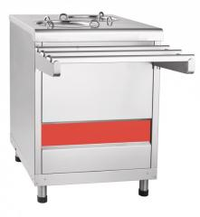 Counter for heating of plates of PTE-70KM-80